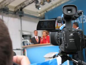 Videokameras im Einsatz